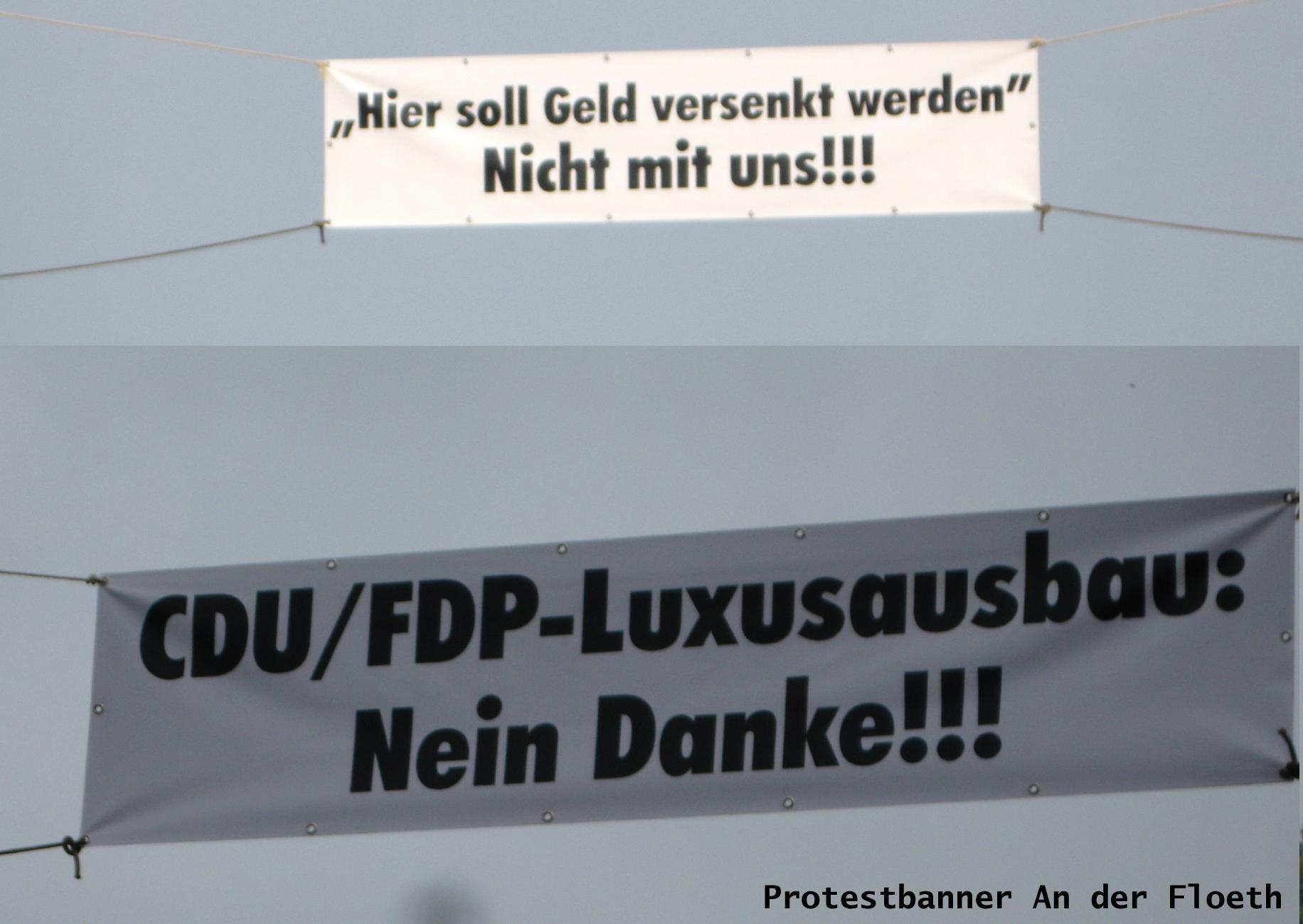 """Anlieger-Initiative für eine kostengünstige Straßenerhaltung """"An der Floeth"""" vergibt """"Rote Karte"""" an CDU und FDP"""