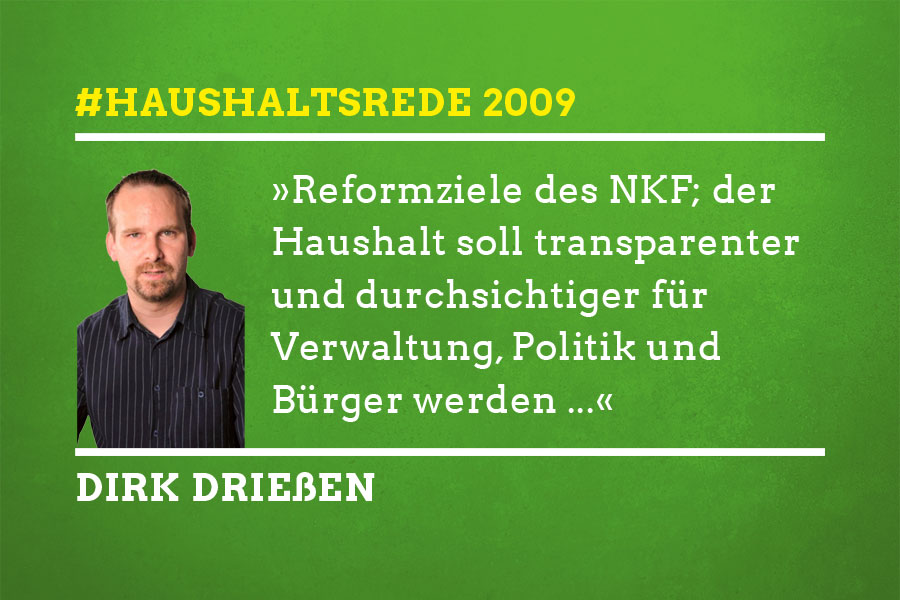 Haushaltsrede 2009