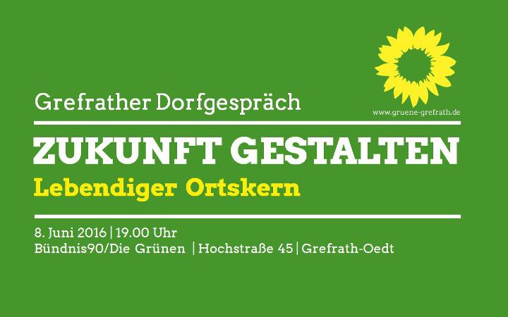 """""""Lebendiger Ortskern"""" – Das Thema beim """"Dorfgespräch: Zukunft gestalten"""" am 08.06.2016"""
