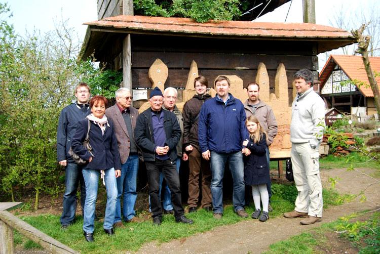 Grefrather Grüne besuchen mit Direktkandidat Christoph Szallies den Naturschutzhof