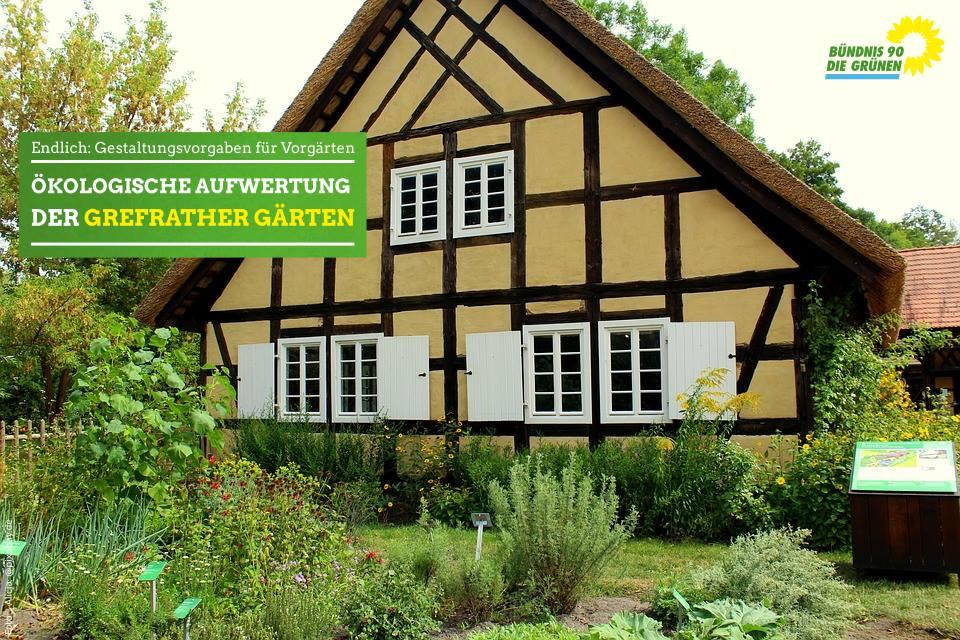 Blühende Zukunft für Grefrather Vorgärten