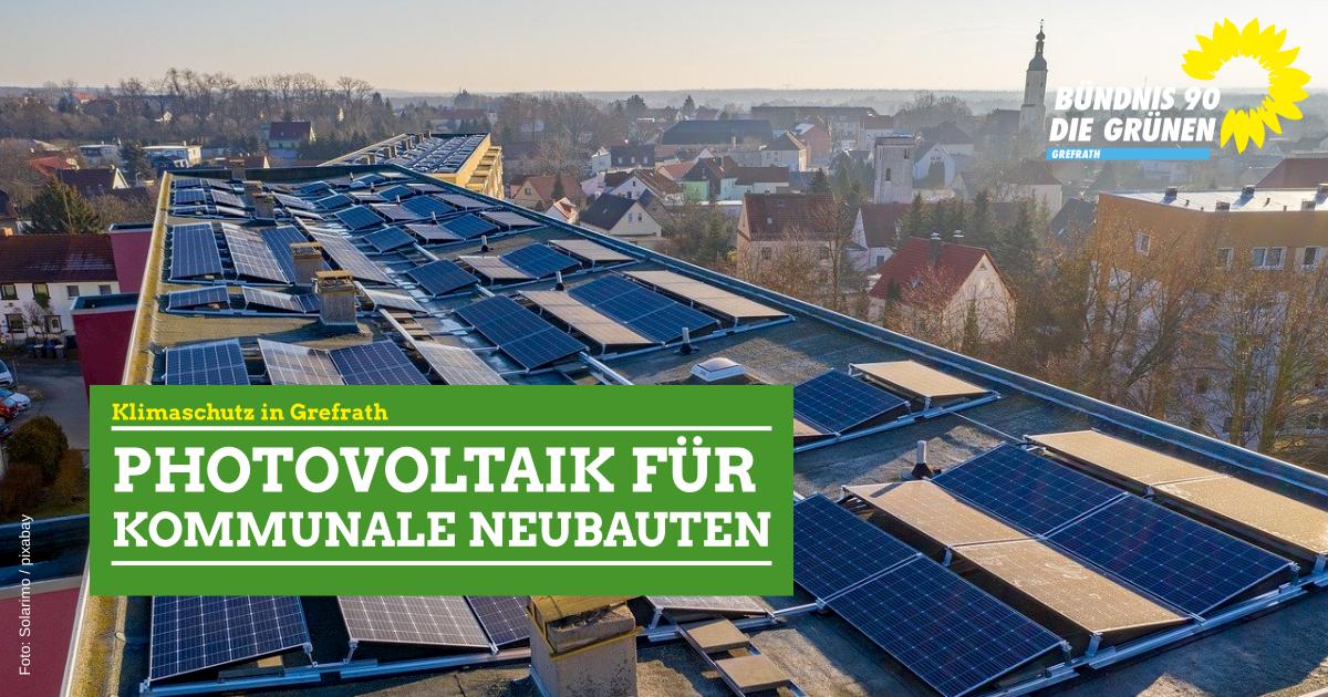 Erneuerbare Energien für kommunale Neubauten