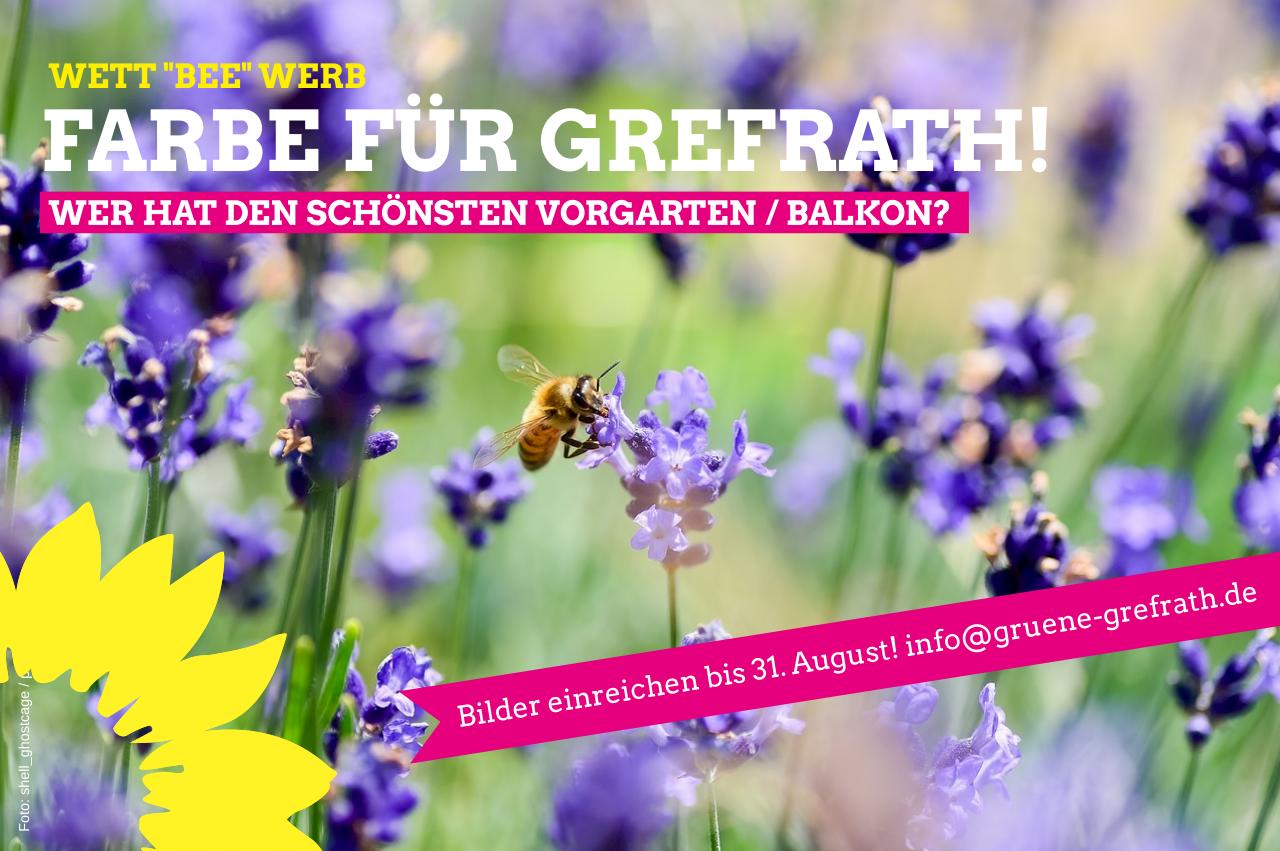 """Wett """"bee"""" werb: Farbe für Grefrath!"""